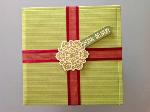Paula Crafting: Christmas Wrapping and boxes