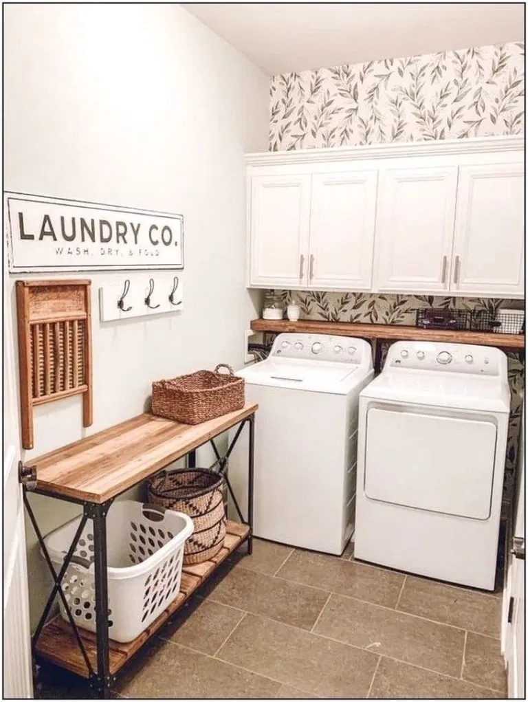 35 great ideas small laundry room space saving diy on extraordinary small laundry room design and decorating ideas modest laundry space id=68278