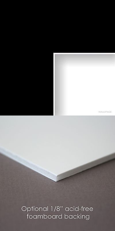 Framing Mats 37576: Black - Custom Cut Matting, Mat Board, Picture ...