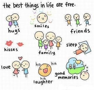 The best things are free