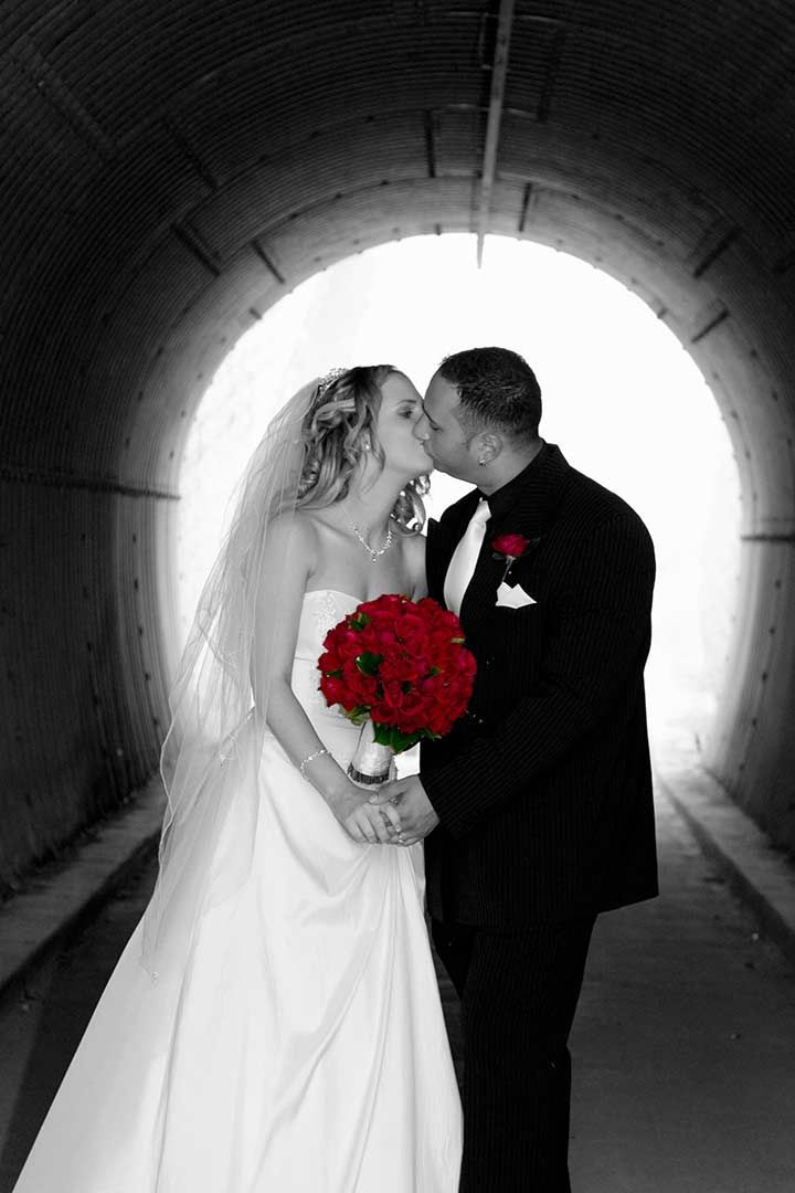 Love The Color Pop In The Black And White Photos Affordable Wedding Photography Wedding Red Wedding