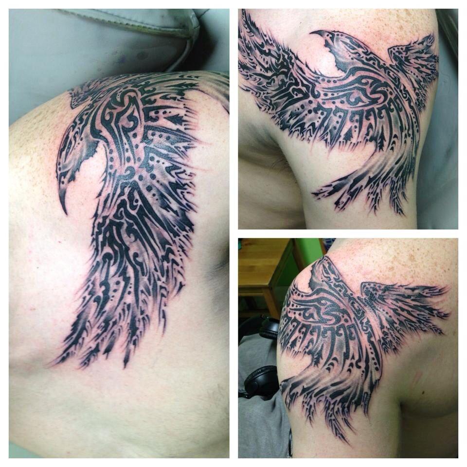 Way of ink Raven tattoo, Viking tattoos, Tattoos