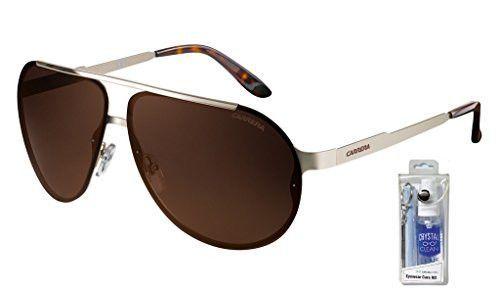 Carrera 90/S Aviator Sunglasses Bundle-2 Items