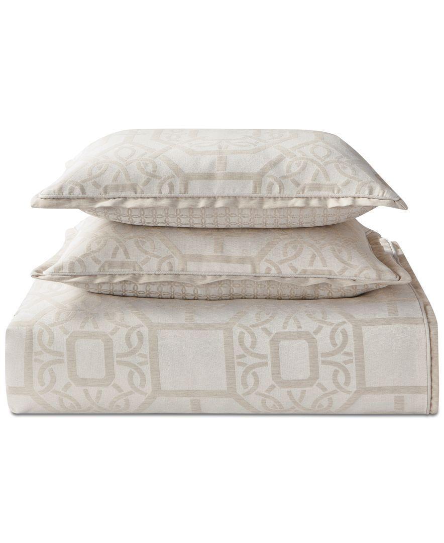 waterford reversible lancaster 4 pc king comforter set