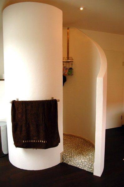 Freistehende Badewanne Schneckendusche Schneckendusche Innen Wand Wc Waschtischanlage Dusche Wand Wc Badezimmer