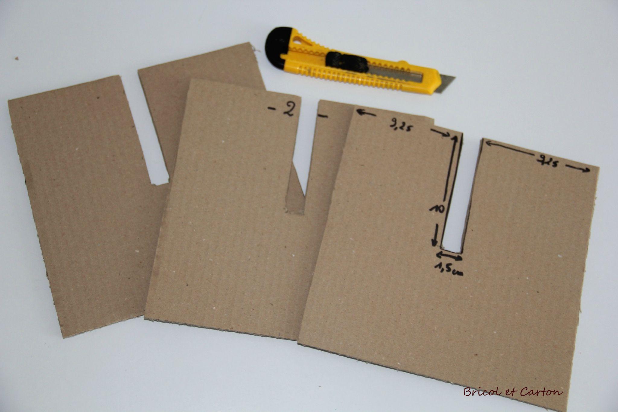 Diy Tabouret En Carton Bricol Et Carton Meuble En Carton Carton Trucs Pour Maison