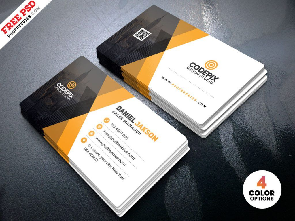 Corporate Business Card Template Psd Free Download Pertaining To Photoshop Cs6 Busin Create Business Cards Business Card Template Psd Visiting Card Templates
