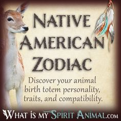 Native American Zodiac & Astrology #nativeamericanindians