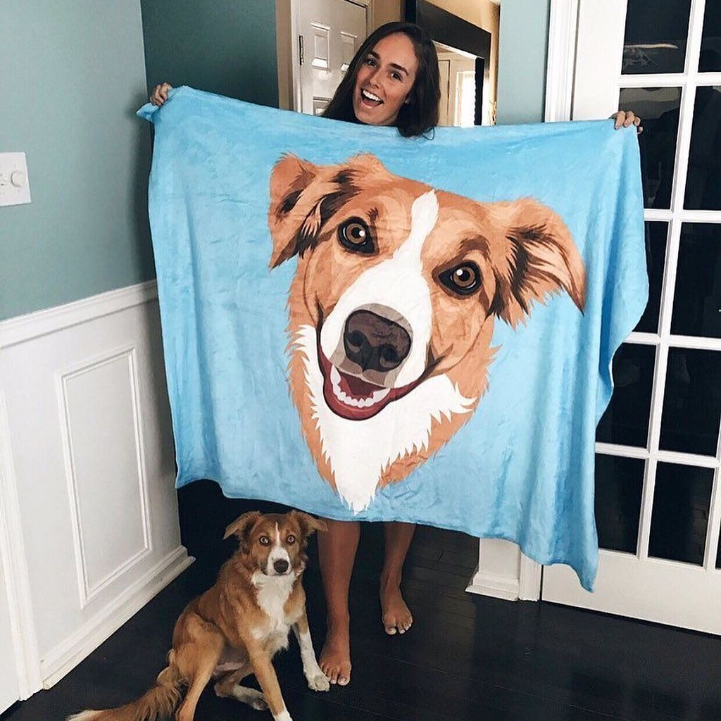 Pin By Tracy Henry On Clean Skin Puppy Beds Animal Pillows Dog Blanket