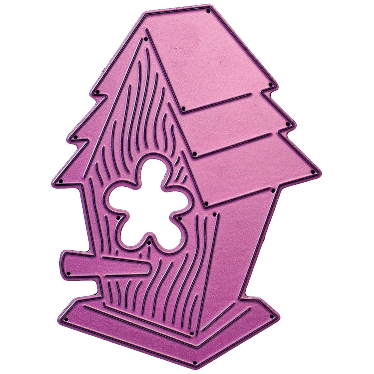 "Cheery Lynn Designs Whimsical Die-Birdhouse, 2.875""X3.875"""