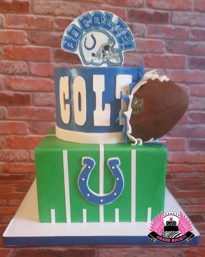 Indianapolis Colts Birthday Cake - Cake by Cakes ROCK!!! | Cakes ...