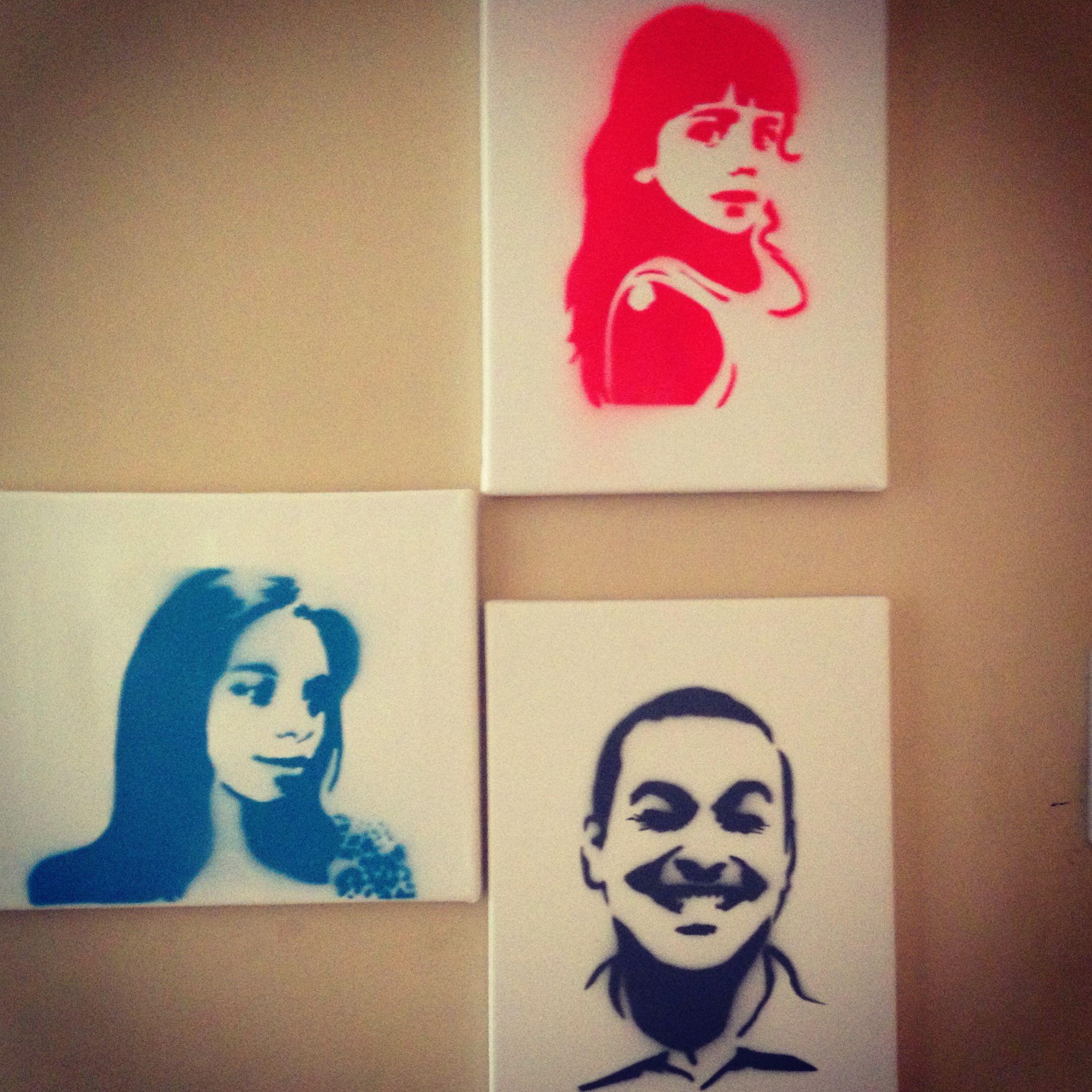 Spray Paint Stencil Ideas Part - 38: Spray Paint Projects