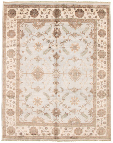 Hand Knotted Carpet 7 10 X 9 9 Jules Ushak Traditional Rug Ebay In 2020 Traditional Style Rugs Traditional Rugs Accent Colors For Gray