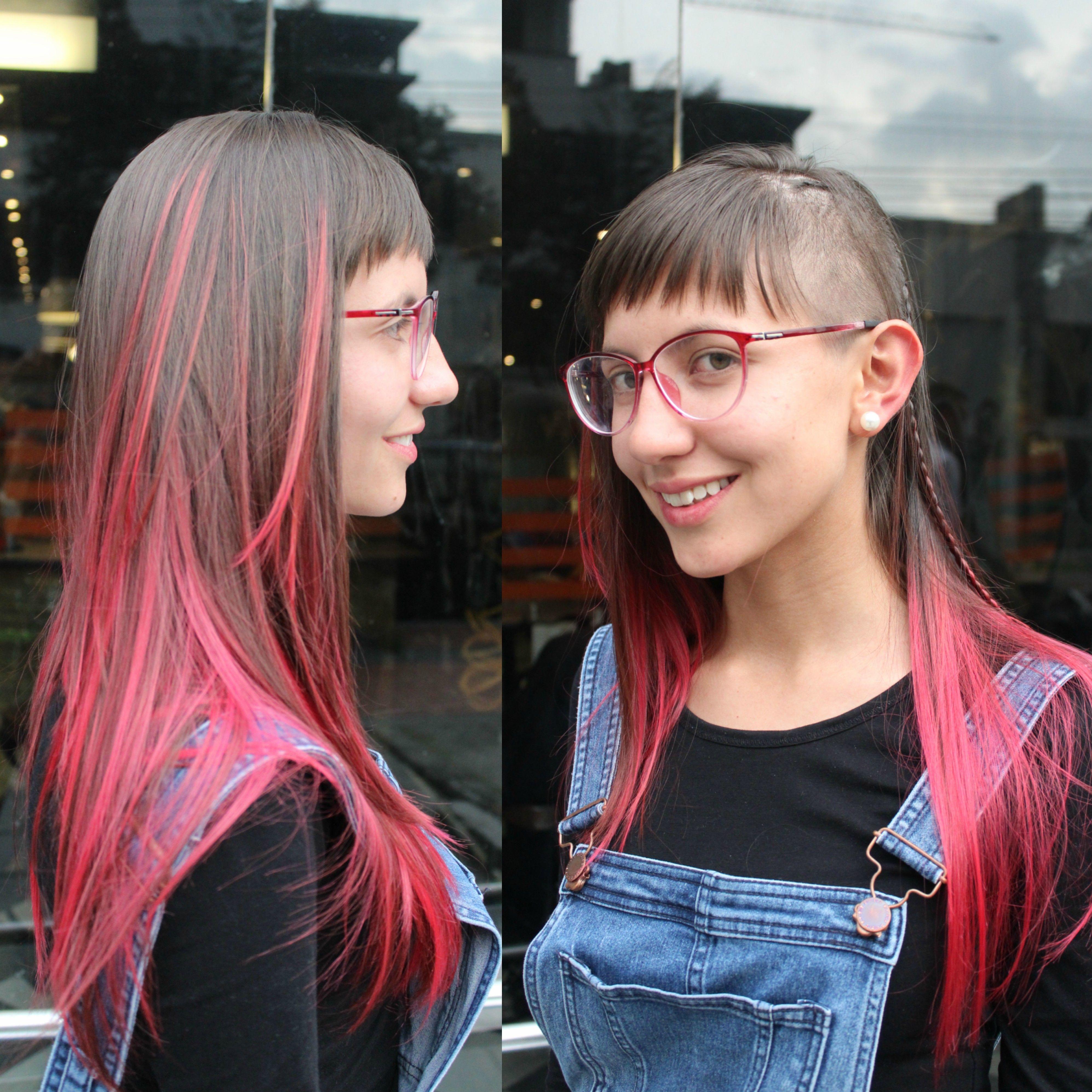 Look irreverente - mechitas rojas sin uniformidad. Artista: David Divano