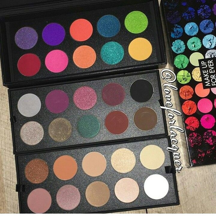 New limited edition makeup forever artist palette (With