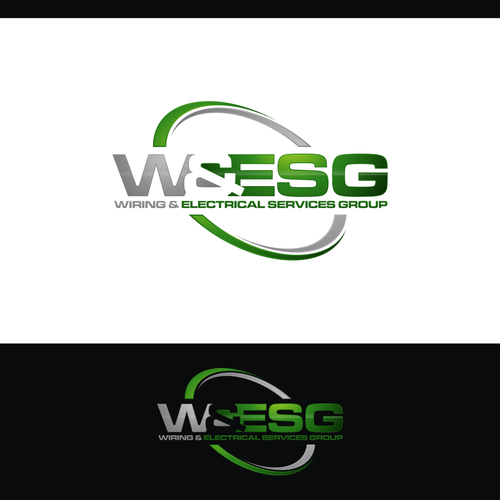 wiring electrical services group wesg logo design construction rh pinterest com Basic Electrical Wiring Diagrams Basic Electrical Wiring Residential