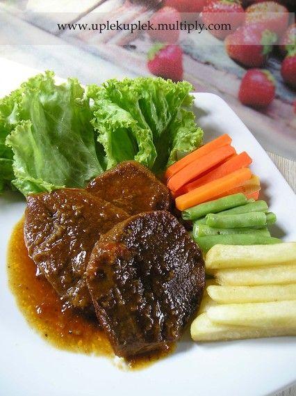 Uplek Uplek Di Dapur Bistik Lidah Resep Masakan Asia Resep Daging Sapi Resep Steak