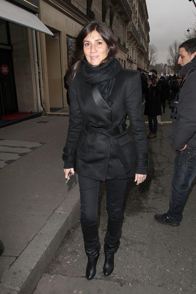 Los VIP del Paris Fashion Week Otono Invierno 2013  Emanuelle Alt