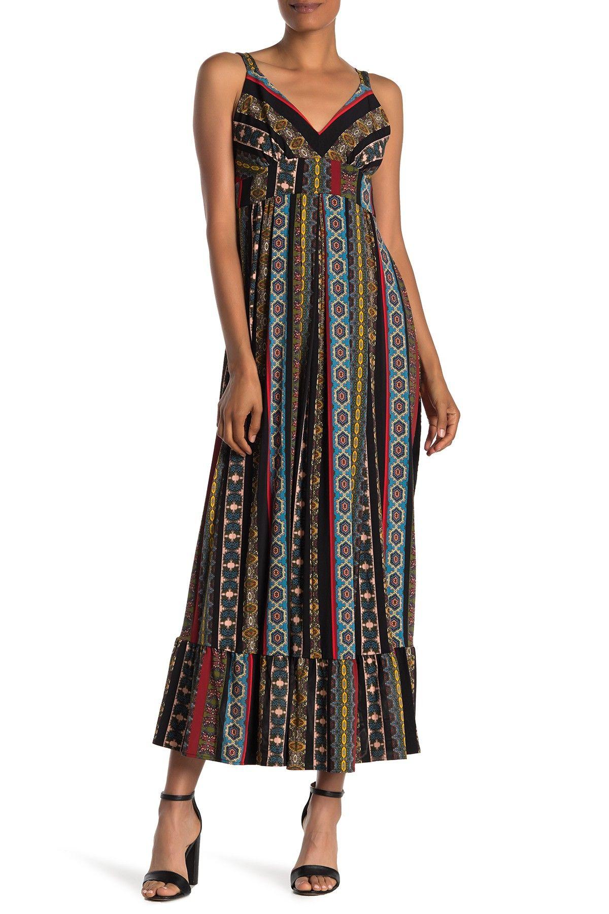 Tahari Asl Floral Print V Neck Tie Waist Charmeuse Maxi Dress Dillard S Maxi Dress Floral Maxi Dress Pretty Dresses [ 2040 x 1760 Pixel ]