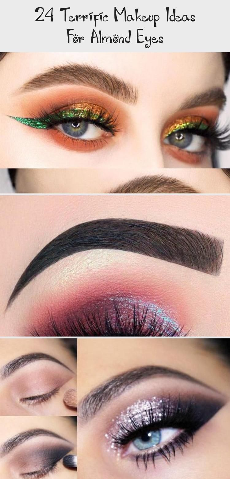 24 Terrific Makeup Ideas For Almond Eyes Festival Eye Makeup