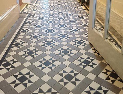 martin mosaic ltd | gallery - victorian floor tiles in