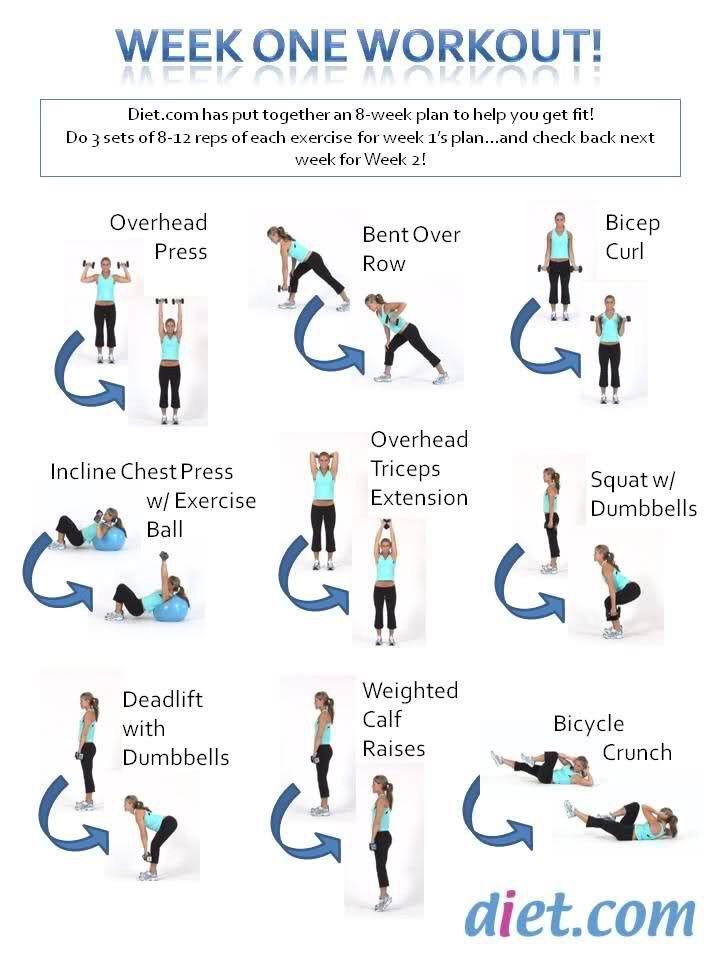 8 Week Fitness Challenge! 😀❤️💯👍🏻