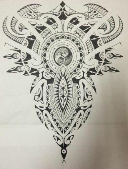 Polynesian Full Back Tattoos: Everything Gets A Return Polynesian & Celtic Full Back