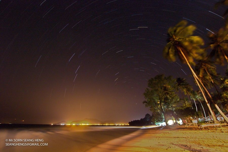 Star Trail  by Sorn  Seang Heng, via 500px