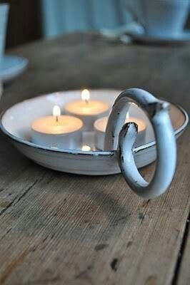 Candle holder, simple and elegant