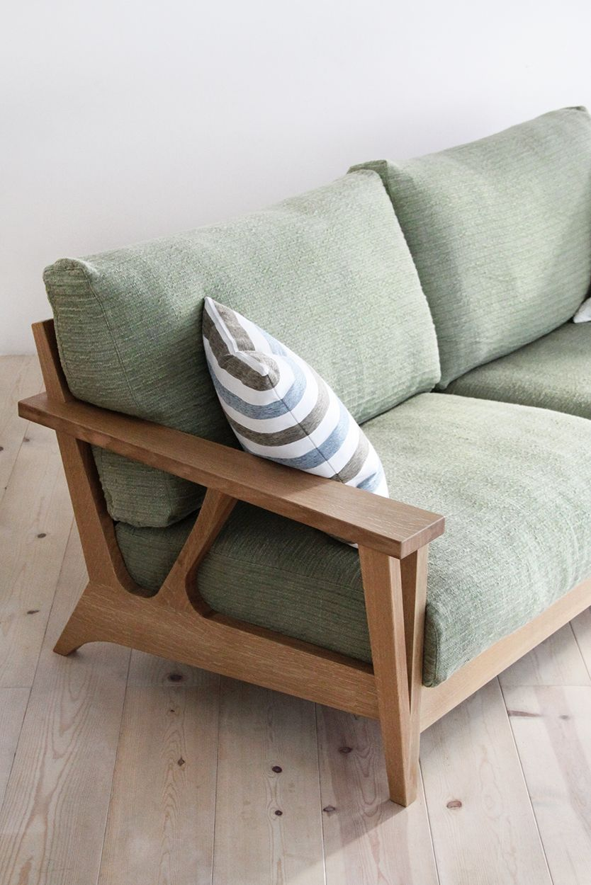 無垢ソファ ブランシェ Wood Frame Couch Wooden Sofa Bench