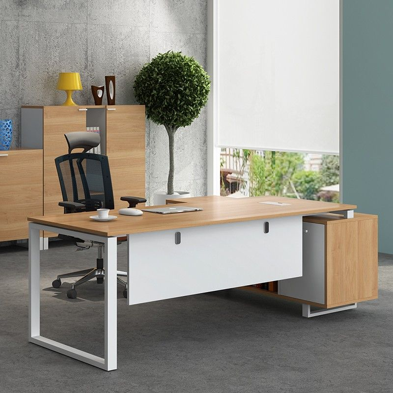 Modern Special Boss Furniture Office Desk Wooden Executive Fancy