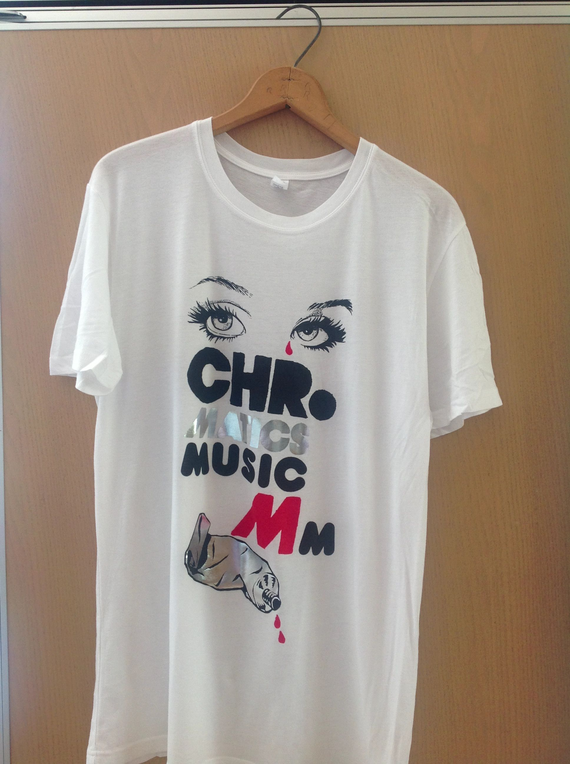 Chromatics Band Tee (With images) Mens tops, Tees, Mens