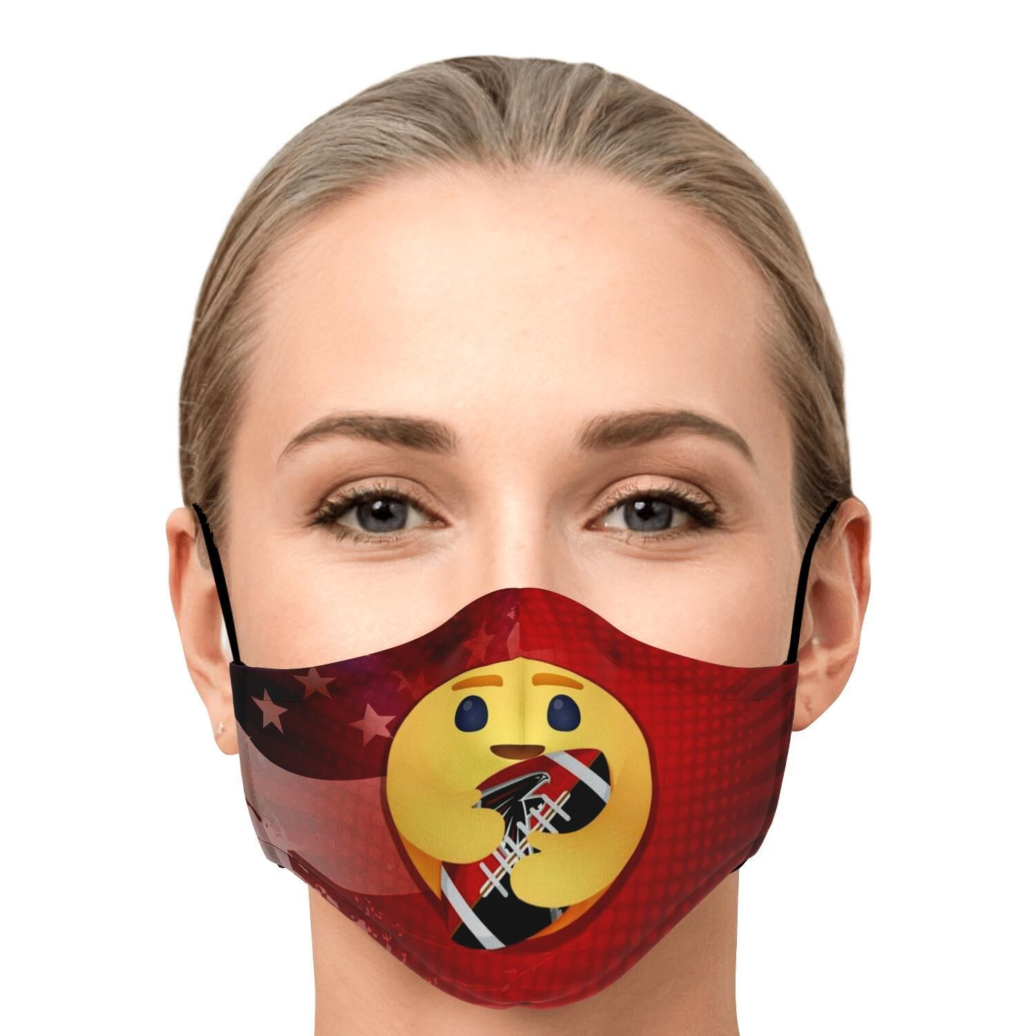 America Is My Home Atlanta Falcons Is My Love Face Mask Nfl T Shirts Store In 2020 Nfl T Shirts Face Mask Tshirt Store