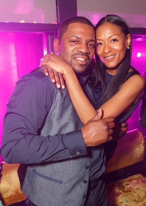 Hollywood Actor Mekhi Phifer with wife Reshelet Celebrate ...