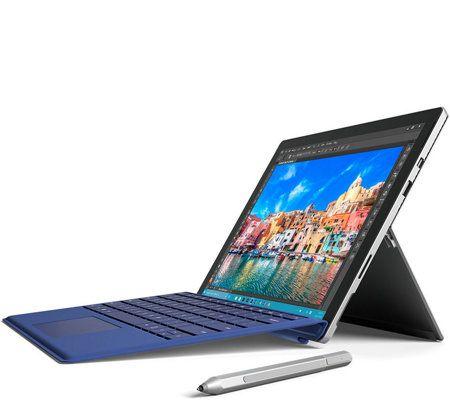 Microsoft Surface Pro 4 Core i5, 128GB Stylus, Support  Blue