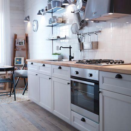 IKea industrial interior design - Google Search | Home- Kitchen ... | {Landhausküchen ikea metod 63}