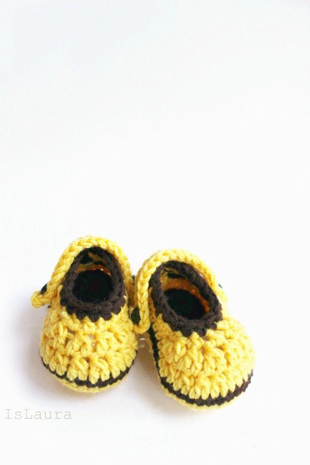 Tutorial Come realizzare piccole crocs in lana a crochet | Baby ...