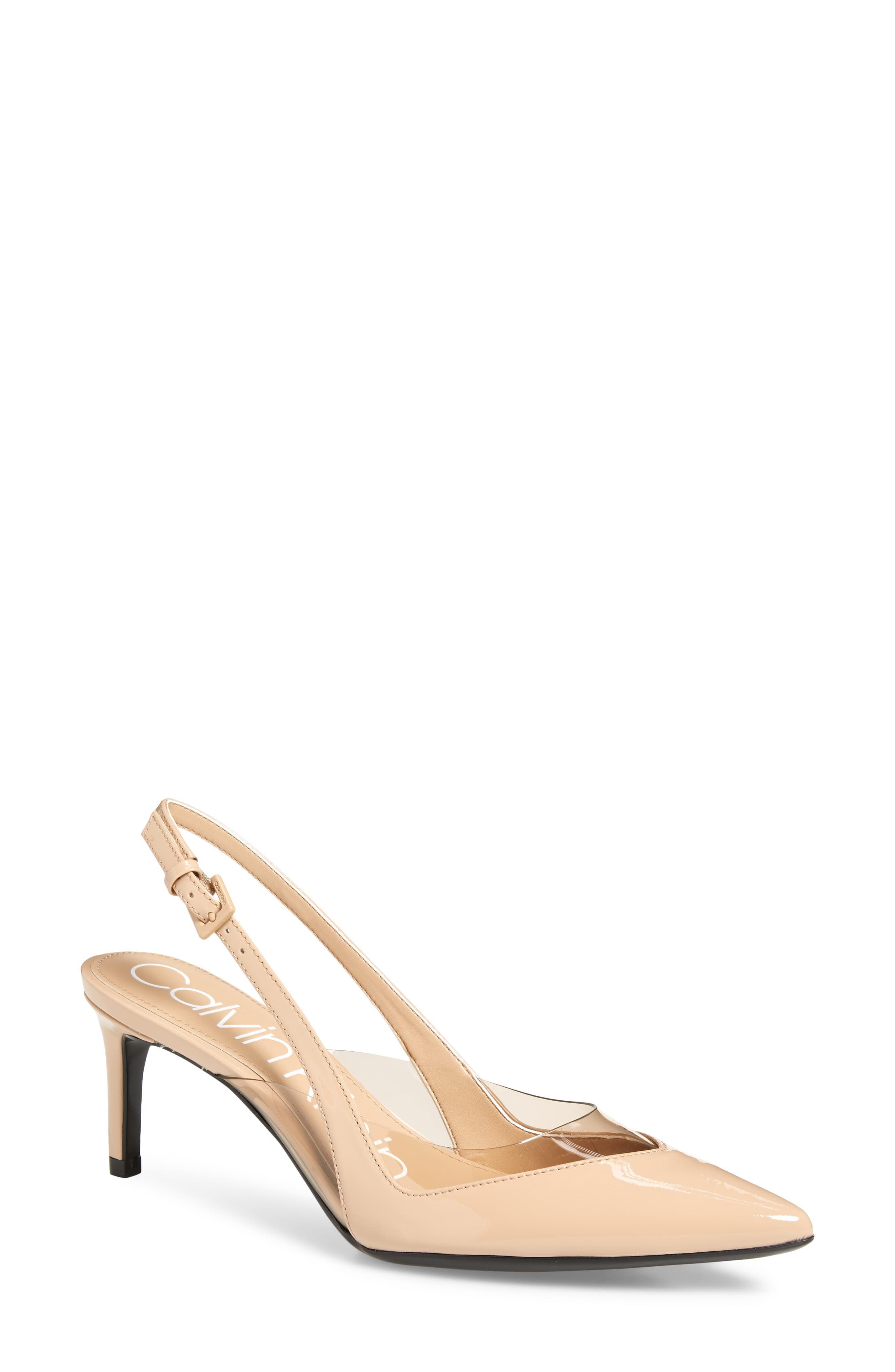 6b54f6b598c Women's Calvin Klein Rache Pump, Size 9.5 M - Beige | Products in ...
