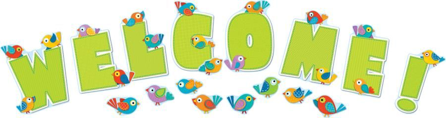 Image result for clip art bird welcome