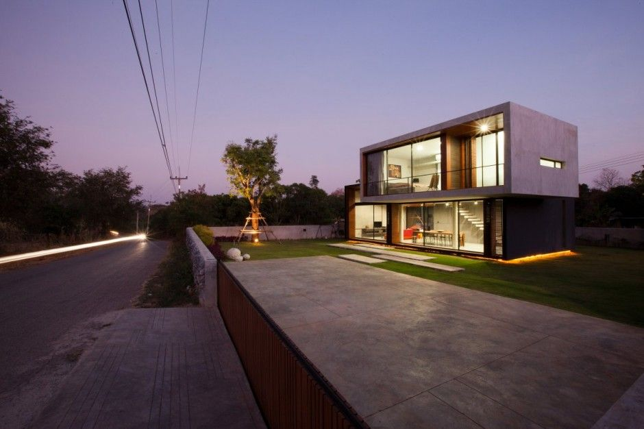W House in Nakhon Ratchasima by IDIN Architects | Awesome Architecture