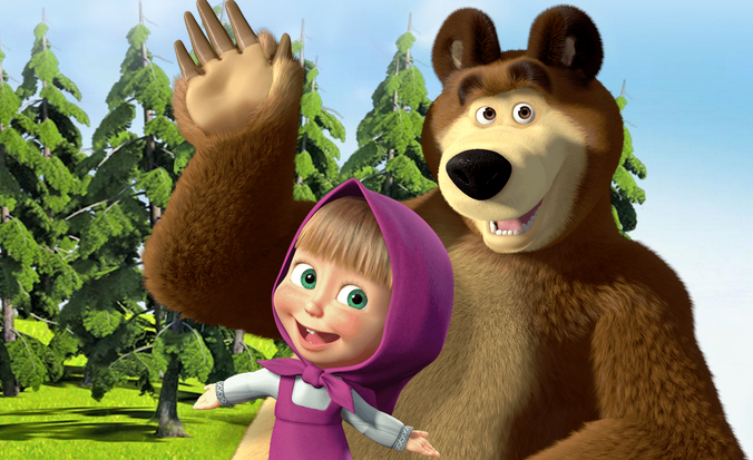 Masha And The Bear Background Wallpaper 8334 High Resolution