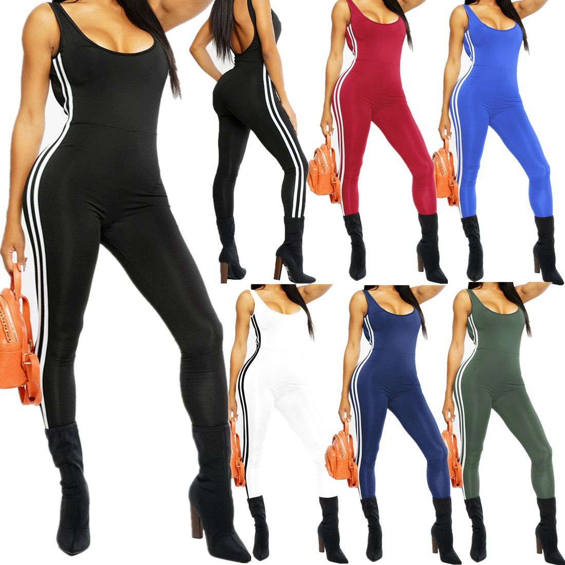 cb0118f06e Women Jumpsuit Romper Bodycon Playsuit Clubwear Long Trousers Party ...