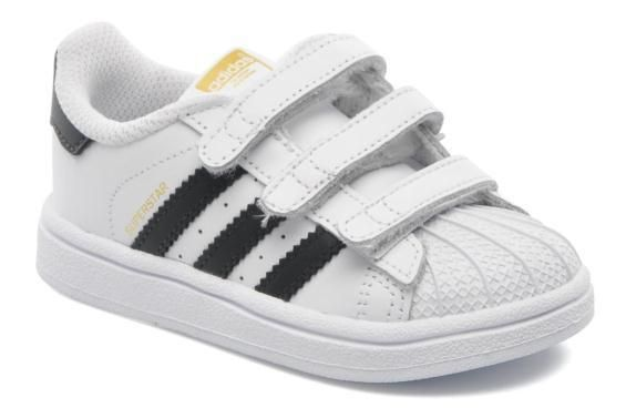 e2fb2aff22da2 Baskets SUPERSTAR FOUNDATION CF I Adidas Originals vue 3 4 Chaussure Bebe  Garcon
