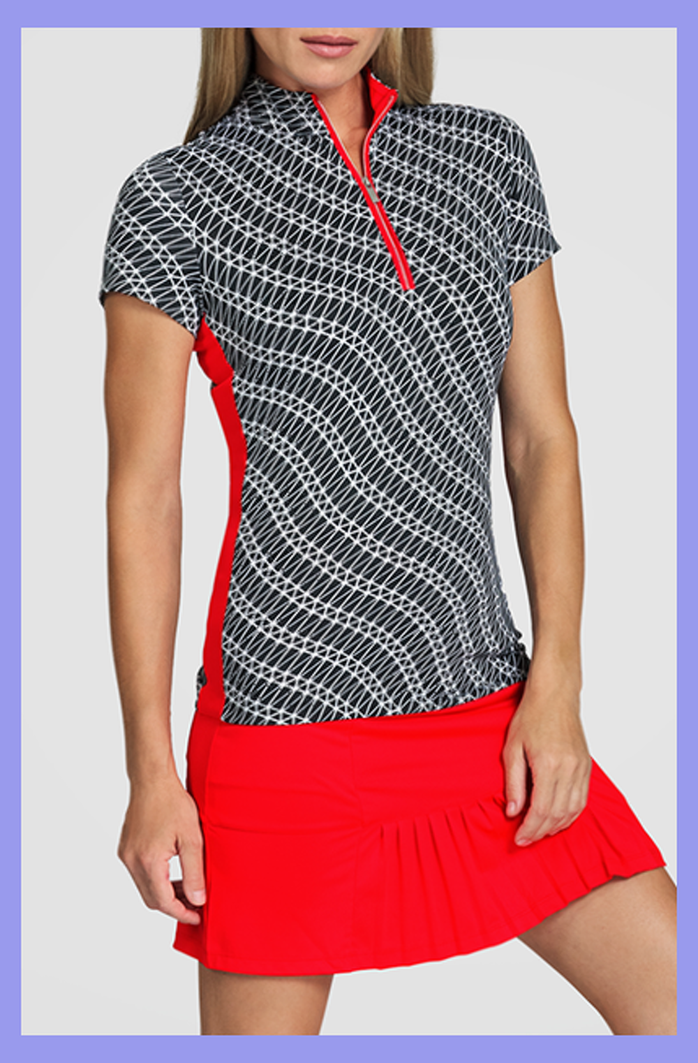 Ggblue Defined Fae Sleeveless Polo Golf Attire Women Golf Outfits Women Golf Outfit