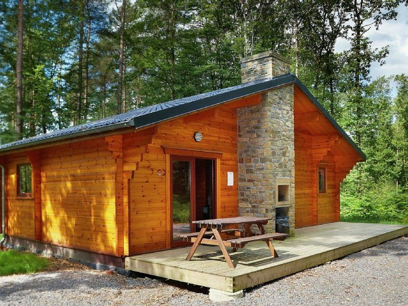 Holzbungalow bauen Cabins and cottages, Holiday