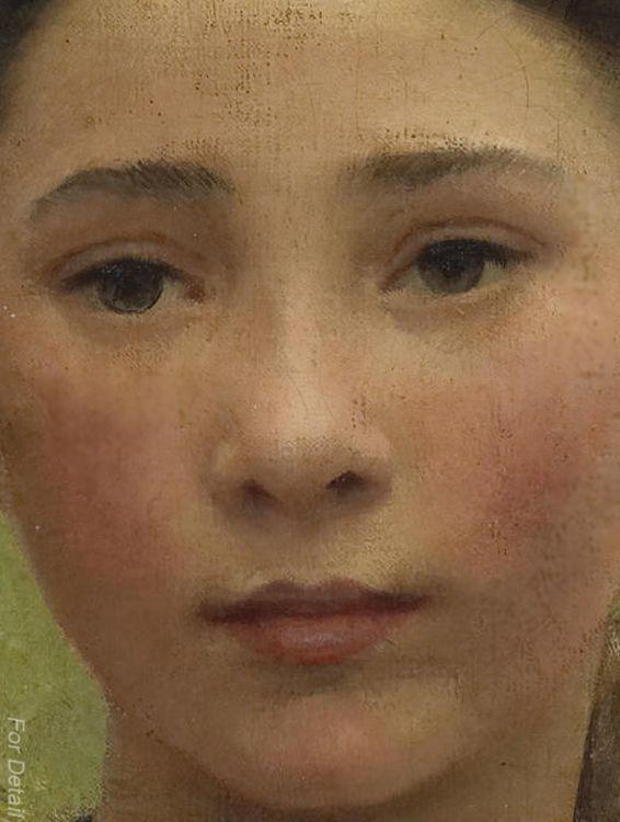 Pin on Art - Faces |Sir George Clausen Head Girls