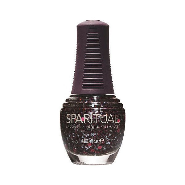 SpaRitual QUEST Nail Lacquer, Beyond 0.5 oz (15 ml) ($6) ❤ liked on Polyvore featuring beauty products, nail care, nail polish, nail, sparitual nail lacquer, sparitual nail polish and sparitual