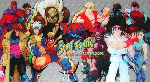 Caesar X Men Vs Street Fighter Euro 961004 Street Fighter Man Vs Marvel Vs Capcom