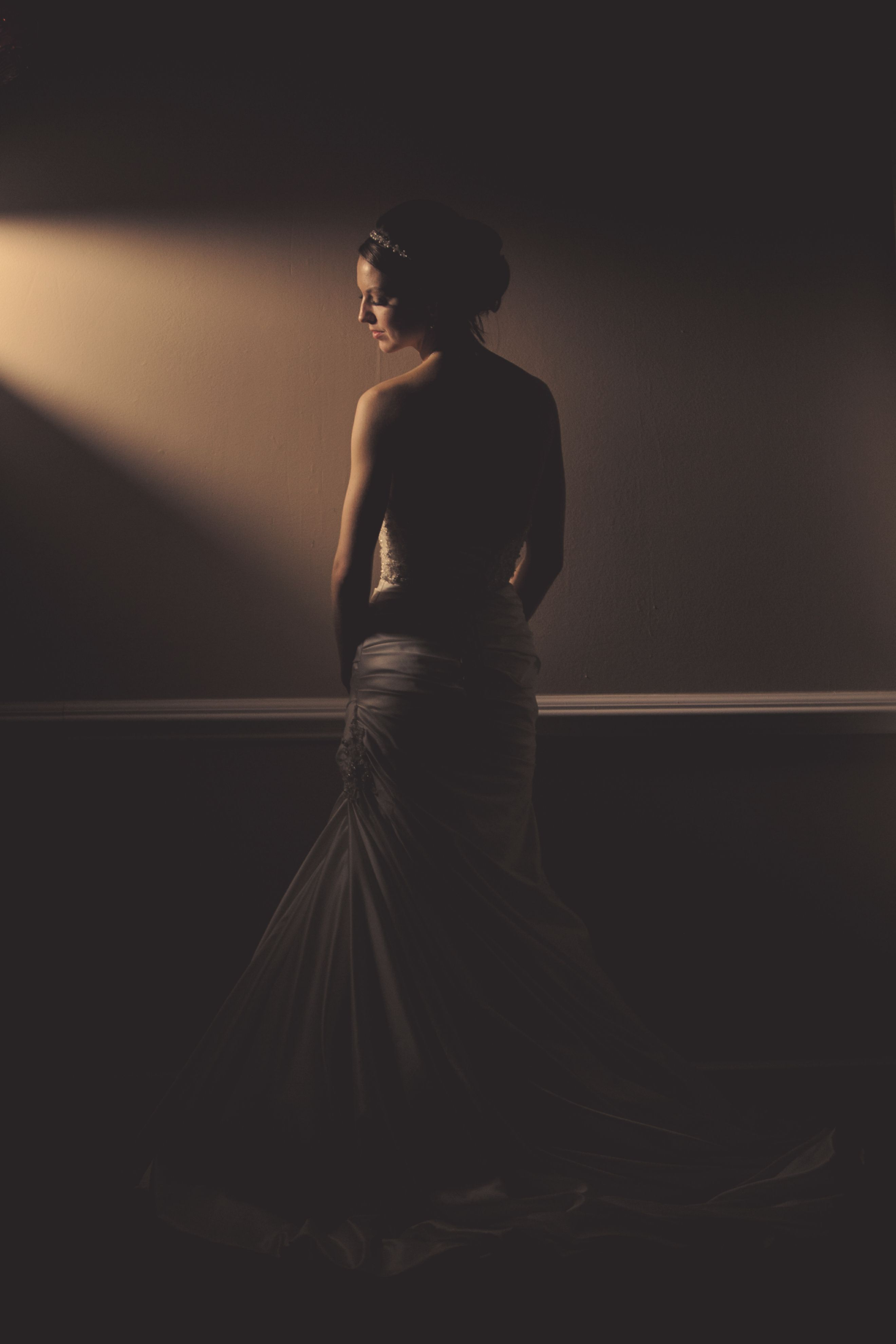 Great Silhouette shot using Westcott Icelight and barn doors