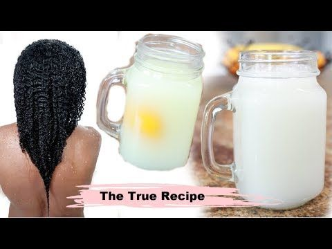 How To Make Rice Water The Truth Recipe Nobody Shows You On Youtube Fine Low Porosity Hair Youtub In 2020 Hair Porosity Low Porosity Hair Products Grow Long Hair